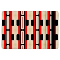 Rectangles And Stripes Pattern apple Ipad Air Flip Case by LalyLauraFLM
