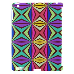 Connected Shapes In Retro Colors  			apple Ipad 3/4 Hardshell Case (compatible With Smart Cover) by LalyLauraFLM