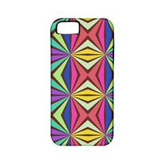 Connected Shapes In Retro Colors  apple Iphone 5 Classic Hardshell Case (pc+silicone) by LalyLauraFLM