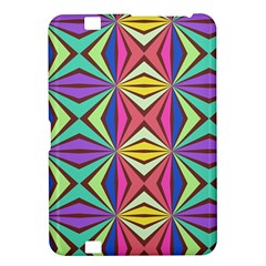 Connected Shapes In Retro Colors  			kindle Fire Hd 8 9  Hardshell Case by LalyLauraFLM