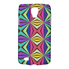 Connected Shapes In Retro Colors  			samsung Galaxy S4 Active (i9295) Hardshell Case by LalyLauraFLM
