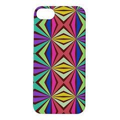 Connected Shapes In Retro Colors  			apple Iphone 5s Hardshell Case by LalyLauraFLM