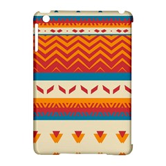 Tribal Shapes  apple Ipad Mini Hardshell Case (compatible With Smart Cover) by LalyLauraFLM