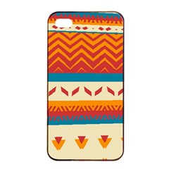Tribal Shapes  apple Iphone 4/4s Seamless Case (black) by LalyLauraFLM