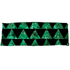 Triangle2 Black Marble & Green Marble Body Pillow Case Dakimakura (two Sides) by trendistuff