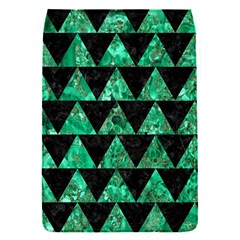 Triangle2 Black Marble & Green Marble Removable Flap Cover (s) by trendistuff