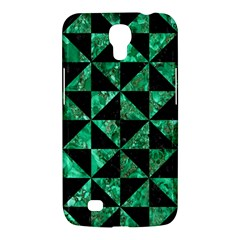 Triangle1 Black Marble & Green Marble Samsung Galaxy Mega 6 3  I9200 Hardshell Case by trendistuff
