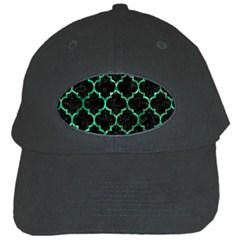 Tile1 Black Marble & Green Marble (r) Black Cap by trendistuff