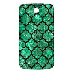 Tile1 Black Marble & Green Marble Samsung Galaxy Mega I9200 Hardshell Back Case by trendistuff