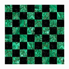 Square1 Black Marble & Green Marble Medium Glasses Cloth by trendistuff