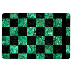 Square1 Black Marble & Green Marble Apple Ipad Air 2 Flip Case by trendistuff