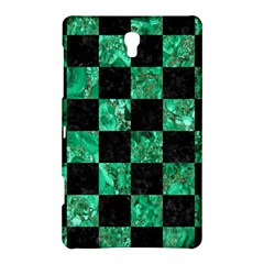 Square1 Black Marble & Green Marble Samsung Galaxy Tab S (8 4 ) Hardshell Case  by trendistuff