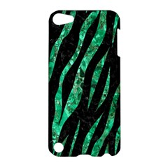 Skin3 Black Marble & Green Marble (r) Apple Ipod Touch 5 Hardshell Case by trendistuff