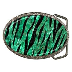 Skin3 Black Marble & Green Marble Belt Buckle