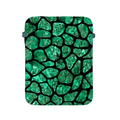 Skin1 Black Marble & Green Marble (r) Apple Ipad 2/3/4 Protective Soft Case by trendistuff