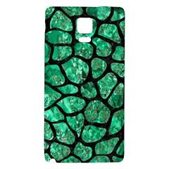 Skin1 Black Marble & Green Marble (r) Samsung Note 4 Hardshell Back Case by trendistuff