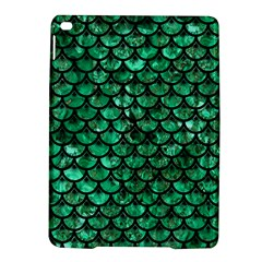 Scales3 Black Marble & Green Marble Apple Ipad Air 2 Hardshell Case
