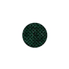 Scales2 Black Marble & Green Marble (r) 1  Mini Magnet by trendistuff