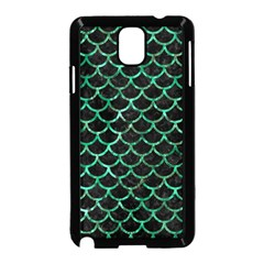 Scales1 Black Marble & Green Marble (r) Samsung Galaxy Note 3 Neo Hardshell Case (black)