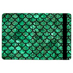 Scales1 Black Marble & Green Marble Apple Ipad Air 2 Flip Case by trendistuff