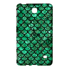 Scales1 Black Marble & Green Marble Samsung Galaxy Tab 4 (7 ) Hardshell Case  by trendistuff