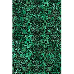 Damask2 Black Marble & Green Marble 5 5  X 8 5  Notebook by trendistuff