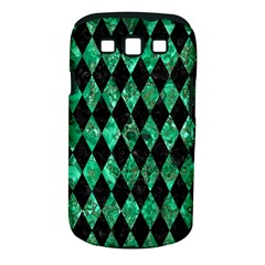 DIA1 BK-GR MARBLE Samsung Galaxy S III Classic Hardshell Case (PC+Silicone) by trendistuff