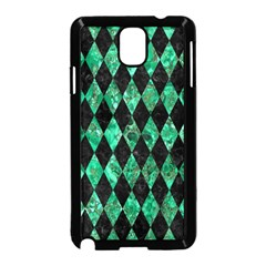 Diamond1 Black Marble & Green Marble Samsung Galaxy Note 3 Neo Hardshell Case (black)