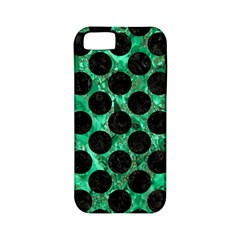 Circles2 Black Marble & Green Marble Apple Iphone 5 Classic Hardshell Case (pc+silicone) by trendistuff