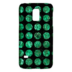 Circles1 Black Marble & Green Marble (r) Samsung Galaxy S5 Mini Hardshell Case  by trendistuff