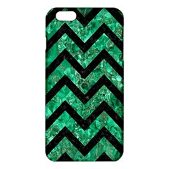 Chevron9 Black Marble & Green Marble (r) Iphone 6 Plus/6s Plus Tpu Case