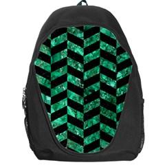 CHV1 BK-GR MARBLE Backpack Bag by trendistuff