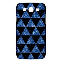 Triangle3 Black Marble & Blue Marble Samsung Galaxy Mega 5 8 I9152 Hardshell Case  by trendistuff