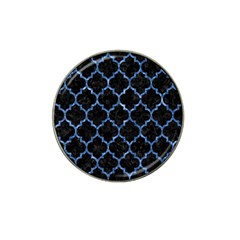 Tile1 Black Marble & Blue Marble (r) Hat Clip Ball Marker (10 Pack) by trendistuff