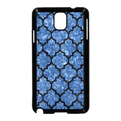 Tile1 Black Marble & Blue Marble Samsung Galaxy Note 3 Neo Hardshell Case (black)