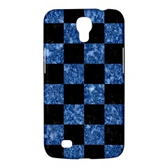 Square1 Black Marble & Blue Marble Samsung Galaxy Mega 6 3  I9200 Hardshell Case by trendistuff