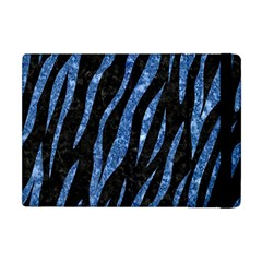 Skin3 Black Marble & Blue Marble (r) Apple Ipad Mini Flip Case by trendistuff