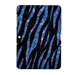 SKN3 BK-BL MARBLE (R) Samsung Galaxy Tab 2 (10.1 ) P5100 Hardshell Case  by trendistuff