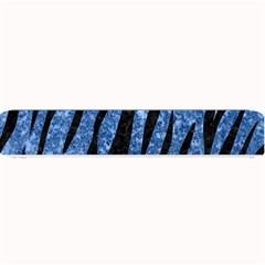 Skin3 Black Marble & Blue Marble Small Bar Mat by trendistuff