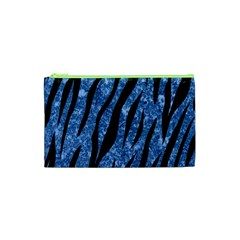 Skin3 Black Marble & Blue Marble Cosmetic Bag (xs)