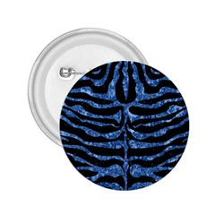 Skin2 Black Marble & Blue Marble (r) 2 25  Button by trendistuff