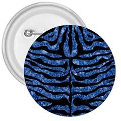 Skin2 Black Marble & Blue Marble 3  Button by trendistuff