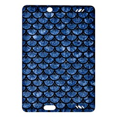 Scales3 Black Marble & Blue Marble Amazon Kindle Fire Hd (2013) Hardshell Case by trendistuff