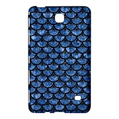 Scales3 Black Marble & Blue Marble Samsung Galaxy Tab 4 (7 ) Hardshell Case