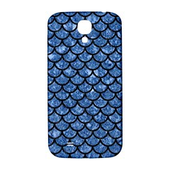 Scales1 Black Marble & Blue Marble Samsung Galaxy S4 I9500/i9505  Hardshell Back Case by trendistuff