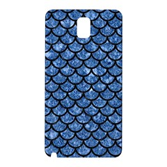 Scales1 Black Marble & Blue Marble Samsung Galaxy Note 3 N9005 Hardshell Back Case