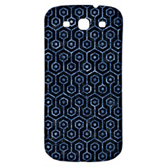 Hexagon1 Black Marble & Blue Marble (r) Samsung Galaxy S3 S Iii Classic Hardshell Back Case by trendistuff