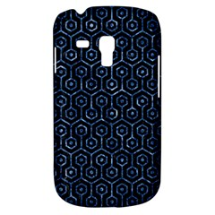 Hexagon1 Black Marble & Blue Marble (r) Samsung Galaxy S3 Mini I8190 Hardshell Case by trendistuff