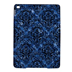 Damask1 Black Marble & Blue Marble (r) Apple Ipad Air 2 Hardshell Case by trendistuff
