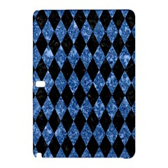 Diamond1 Black Marble & Blue Marble Samsung Galaxy Tab Pro 10 1 Hardshell Case by trendistuff